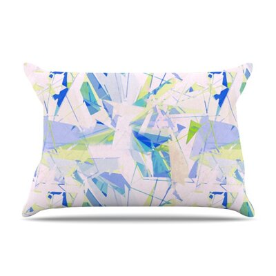 Shatter by Alison Coxon Cotton Pillow Sham