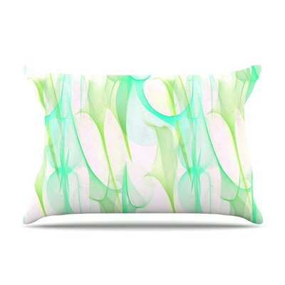 Swim II by Alison Coxon Cotton Pillow Sham