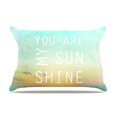 You are My Sunshine by Alison Coxon Cotton Pillow Sham