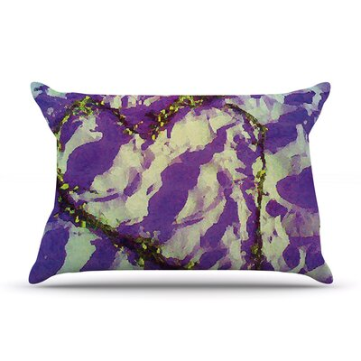 Tiger Love by Anne LaBrie Cotton Pillow Sham