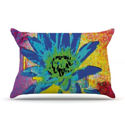 Wild Lotus by Anne LaBrie Flower Featherweight Pillow Sham
