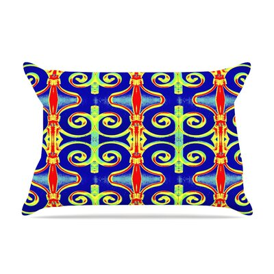 Swirl Away by Anne LaBrie Cotton Pillow Sham