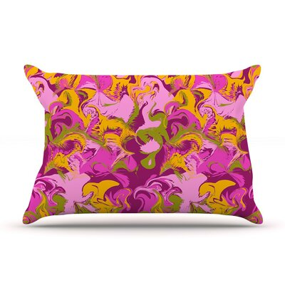 Marbleized in Plum by Anneline Sophia Featherweight Pillow Sham