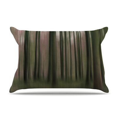 Forest Blur by Alison Coxon Featherweight Pillow Sham