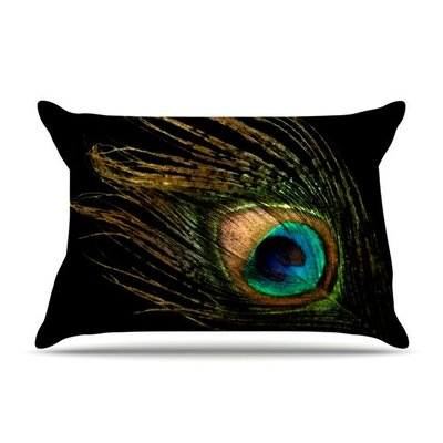 Peacock by Alison Coxon Cotton Pillow Sham