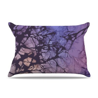 Violet Skies by Alison Coxon Cotton Pillow Sham