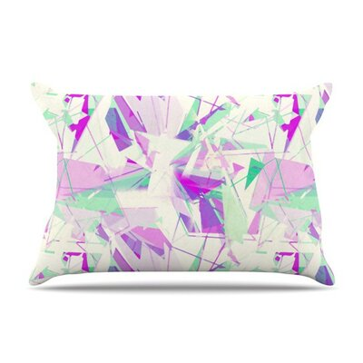 Shatter Purple by Alison Coxon Cotton Pillow Sham