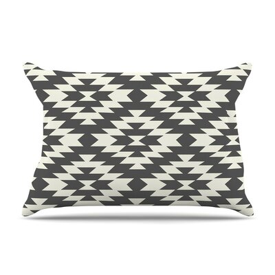 Navajo Cream by Amanda Lane Tribal Geometric Featherweight Pillow Sham