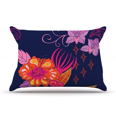 Tropical Paradise by Anneline Sophia Floral Cotton Pillow Sham