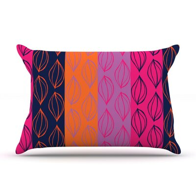 Tropical Seeds by Anneline Sophia Featherweight Pillow Sham, Orange