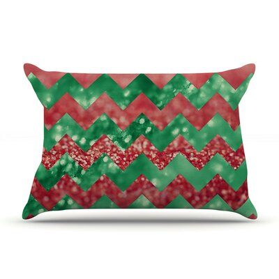 Sparkle by Beth Engel Chevron Cotton Pillow Sham