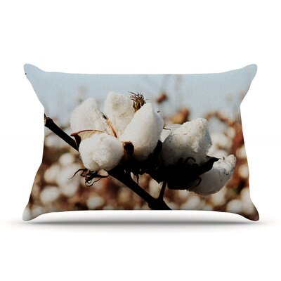 Southern Snow by Beth Engel Cotton Pillow Sham