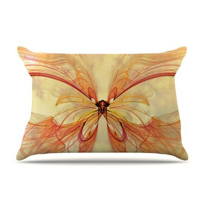 Papillon by Alison Coxon Cotton Pillow Sham