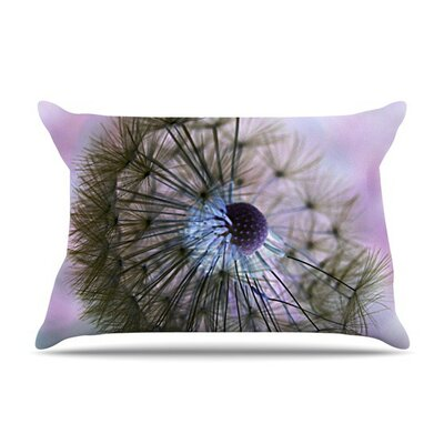 Dandelion Clock by Alison Coxon Featherweight Pillow Sham