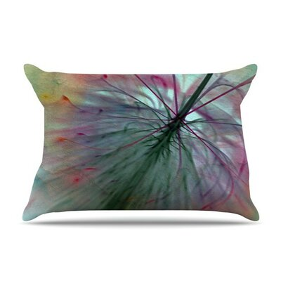 Fleur by Alison Coxon Cotton Pillow Sham