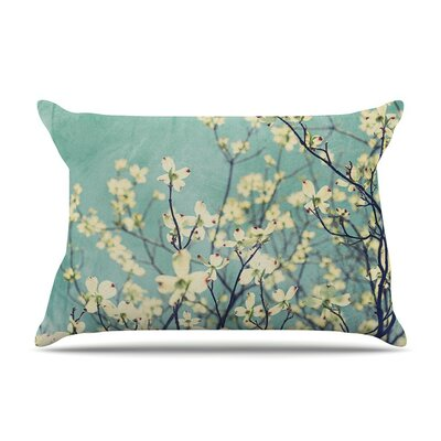 Pure Floral by Ann Barnes Cotton Pillow Sham