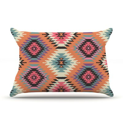 Navajo Dreams by Amanda Lane Featherweight Pillow Sham, Orange