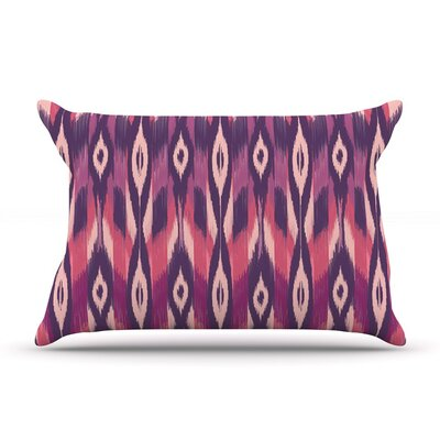 Purple Ikat by Amanda Lane Featherweight Pillow Sham, Lavender
