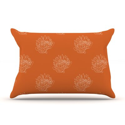 Simpley Protea by Anneline Sophia Cotton Pillow Sham