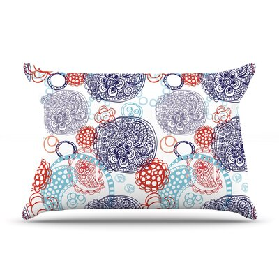 Lacy Ying Yang by Anneline Sophia Cotton Pillow Sham