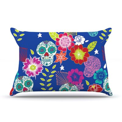 Day of The Dead by Anneline Sophia Aztec Cotton Pillow Sham