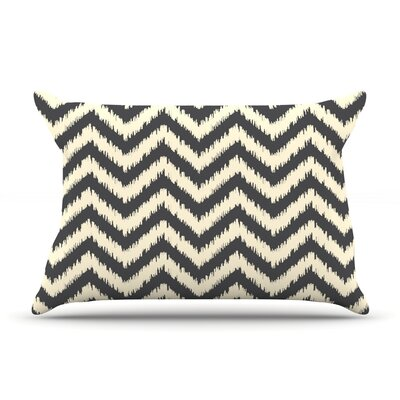 Moonrise Chevron Ikat by Amanda Lane Cotton Pillow Sham
