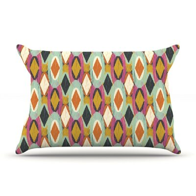 Sequoyah Ovals by Amanda Lane Featherweight Pillow Sham