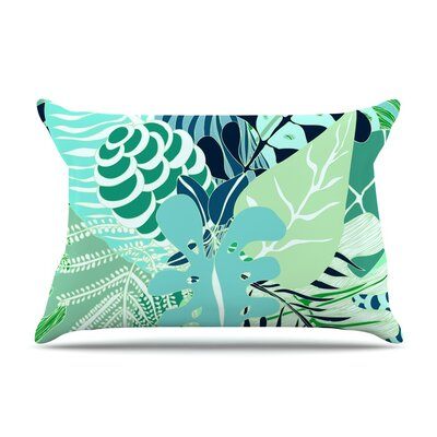 Giungla by Anchobee Floral Cotton Pillow Sham