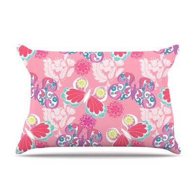 Baroque Butterflies by Anneline Sophia Cotton Pillow Sham