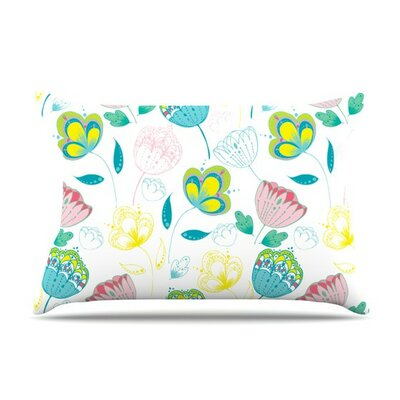 Indie Floral by Anneline Sophia Cotton Pillow Sham