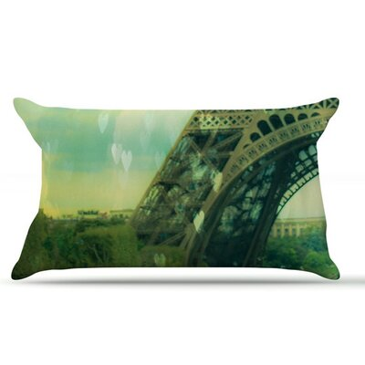 Paris Dreams by Ann Barnes Tower Cotton Pillow Sham