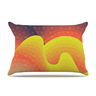 Waves Waves by Akwaflorell Featherweight Pillow Sham
