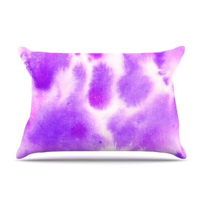 Watercolor by Iris Lehnhardt Lavender Featherweight Pillow Sham