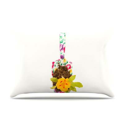The Gardener by Ingrid Beddoes Cotton Pillow Sham