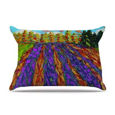 Flowers in the Field by Jeff Ferst Cotton Pillow Sham