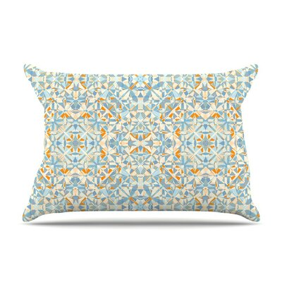 Coastal by Allison Soupcoff Blue Featherweight Pillow Sham
