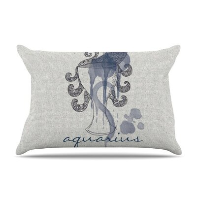 Aquarius by Belinda Gillies Featherweight Pillow Sham