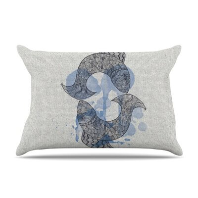 Pisces by Belinda Gillies Cotton Pillow Sham
