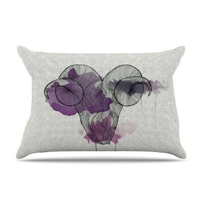 Aries by Belinda Gillies Featherweight Pillow Sham
