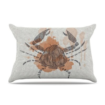 Cancer by Belinda Gillies Cotton Pillow Sham