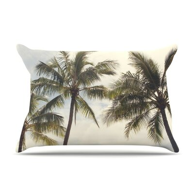 Boho Palms by Catherine McDonald Coastal Trees Featherweight Pillow Sham