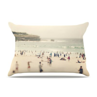 Bondi Beach by Catherine McDonald Cotton Pillow Sham