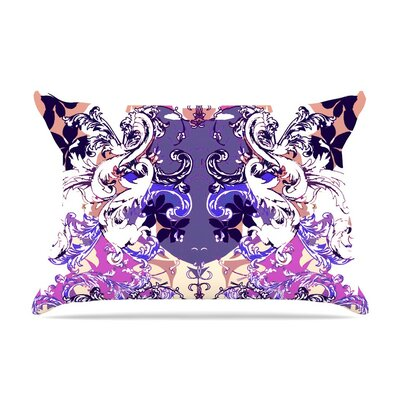 Barroque in Love by Fernanda Sternieri Cotton Pillow Sham