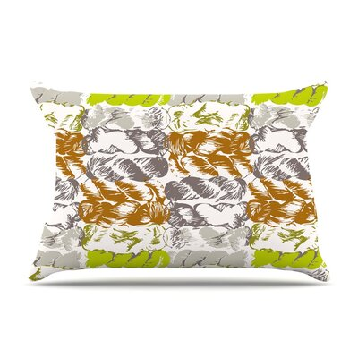 Nice Knot by Fernanda Sternieri Orange Featherweight Pillow Sham