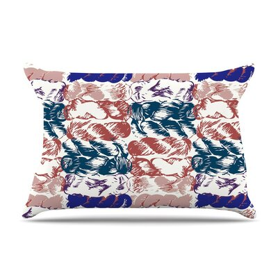 Nice Knot in Rose by Fernanda Sternieri Featherweight Pillow Sham