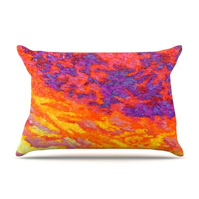View From the Foothills by Jeff Ferst Purple Featherweight Pillow Sham