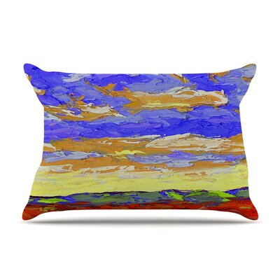 After the Storm by Jeff Ferst Blue Featherweight Pillow Sham