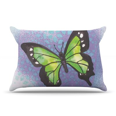 Flutter Lavender by Padgett Mason Cotton Pillow Sham