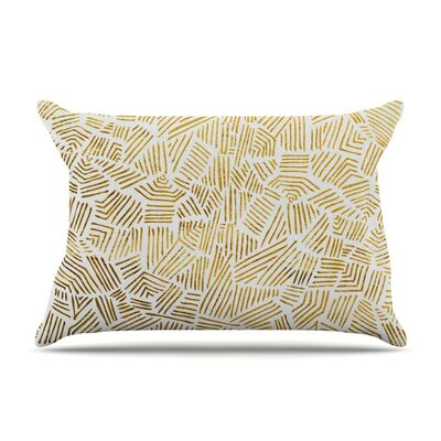 Inca Gold Trail by Pom Graphic Design Featherweight Pillow Sham