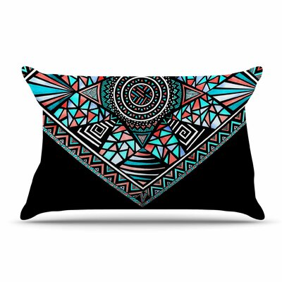 Peacock Feathers by Pom Graphic Design Cotton Pillow Sham